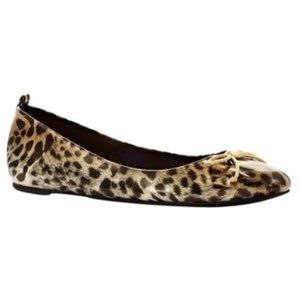 Chico's Leopard Platino Ballet Flats- size 8 NWOT